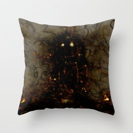 Revenant of a Childhood Toy Throw Pillow