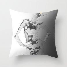 E²_ Throw Pillow