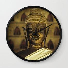 Buddha II Wall Clock