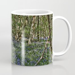 Bluebells in the woods Coffee Mug
