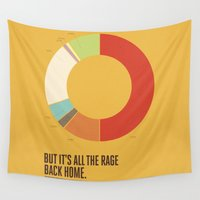 lyrics Wall Tapestries featuring Music Lyrics// All the rage back home by Four & Thirty