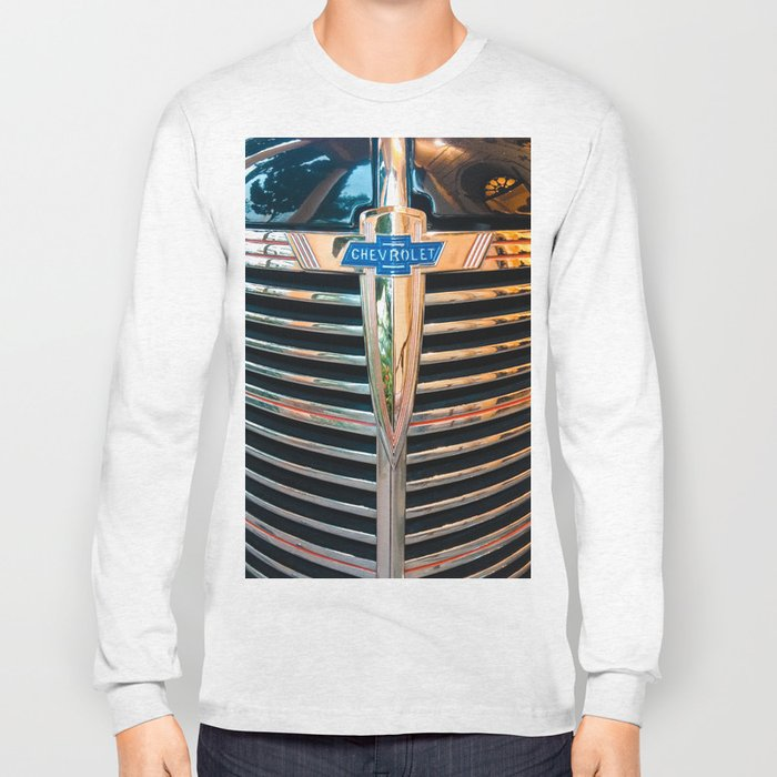 Old Chevrolet Long Sleeve T-shirt