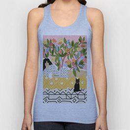 Paint Me Like One of Your French Ladies Unisex Tank Top