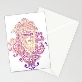 carnevale di venezia Stationery Cards