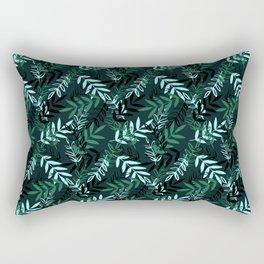 Green Messy Leaves #society6 #decor #buyart Rectangular Pillow