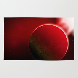 Hot planet Rug