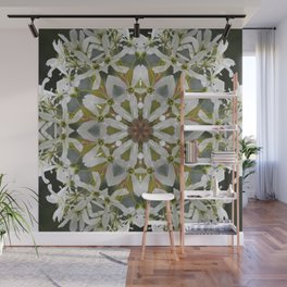 Lacy Serviceberry kaleidoscope - Amelanchier 0033 k5 Wall Mural