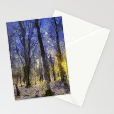 The Forest Van Gogh Stationery Cards