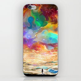 Surrounded iPhone Skin