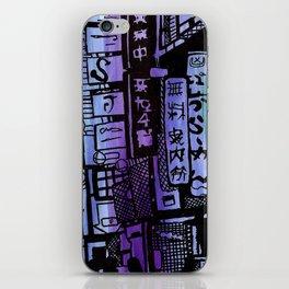 Colors of Tokyo iPhone Skin