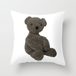 Teddy Bear Toy Throw Pillow