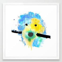 Wilson the Waterdog || Part 2 Framed Art Print