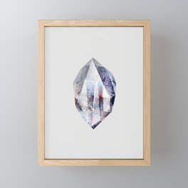 fluo Framed Mini Art Print