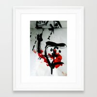 true blood Framed Art Prints featuring TRUE BLOOD by Lazara Rosell Albear