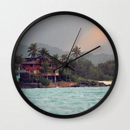 Back to Lanikai Wall Clock