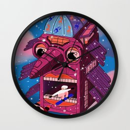 Moving house Wall Clock
