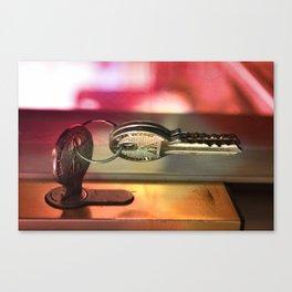 Key. Canvas Print