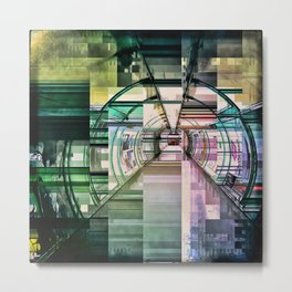 Defcon abstraction Metal Print