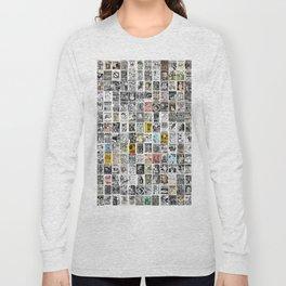 Punk Show Flyers Long Sleeve T-shirt