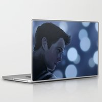 stiles stilinski Laptop & iPad Skins featuring Stiles Stilinski by Inkforwords