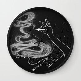 Midnight Toker (#3), Smoking Lady Series Wall Clock