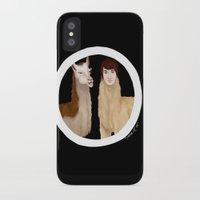 danisnotonfire iPhone & iPod Cases featuring Danisnotonfire Llama by Khrow
