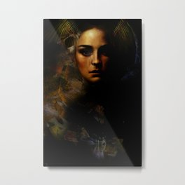 The spirit of temptation Metal Print