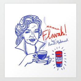 Flavah Art Print