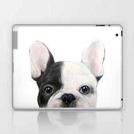 French Bulldog Dog illustration original painting print Laptop & iPad Skin