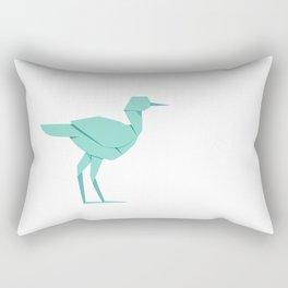 Origami Stork Rectangular Pillow