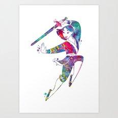 Princess Mulan Art Print