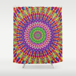 Jewel of The Orchid Shower Curtain