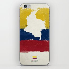 Viva Colombia iPhone Skin