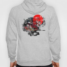Abstract Kyoto Hoody