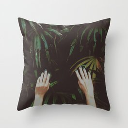 Jungle air Throw Pillow