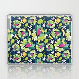 Toucans Everywhere - Blue Laptop & iPad Skin