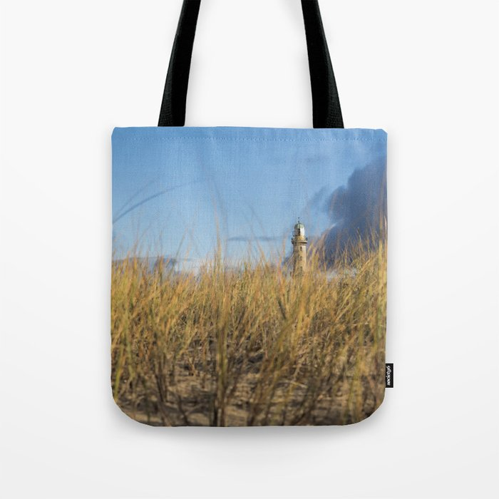 The Lighthouse at the Sea on #Society6 Tote Bag