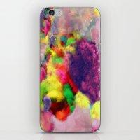 Colorful Smoke And Mirrors iPhone & iPod Skin