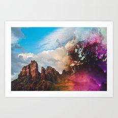 Sedona Arizona Vortex Art Print