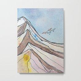 The Ridge Metal Print