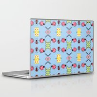 bugs Laptop & iPad Skins featuring Bugs by Lena Photo Art