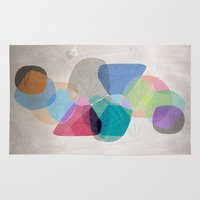 the 100 Area & Throw Rugs featuring Graphic 100 by Mareike Böhmer