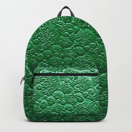 Moss Green Fairy Forest Texture Backpack