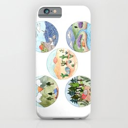Campsite Selection iPhone Case