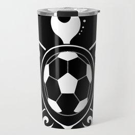 Turtle Football Ball Sea Elegant Fan Gift Travel Mug
