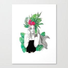 Crown of Wild Canvas Print