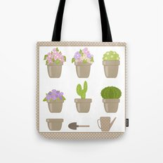 A wonderful design for those who are fond of plants , flowers . Tote Bag