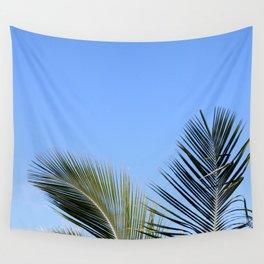 Palm Tree Sky Wall Tapestry