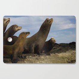 Sea lions Cutting Board