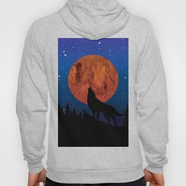 Wolf night Hoody